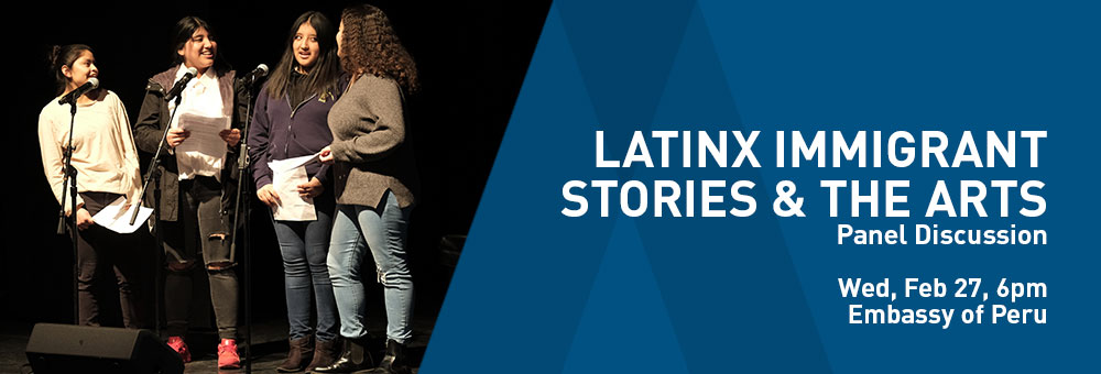 Latinx Immigrant Stories & the Arts