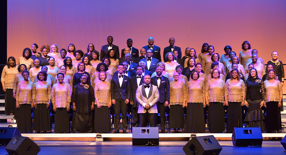 Washington Performing Arts Men & Women of the Gospel Choir